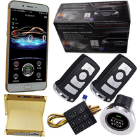 gsm car alarm security system smart keyless engine start stop button gps online tracking system cardot brand manufacturer