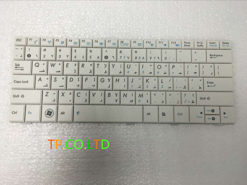 New AR laptop keyboard FoR ASUS EPC 1005HA EEE PC 1005 HA 1005 1005HD ARBIC version BLACK colour