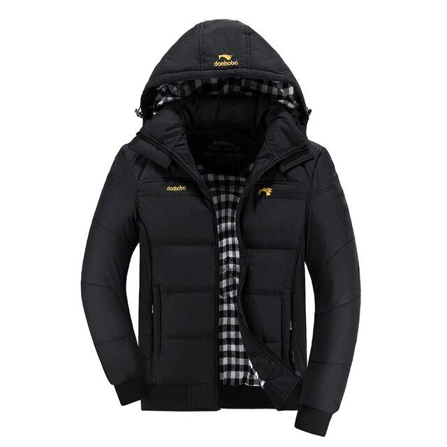 2016 Зимой толстые хлопка Куртка Chaqueta Plumas 8 цвета Стенд Куртка С Капюшоном верхняя одежда Куртка Водонепроницаемый Пальто