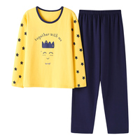 yellow pink Plus size Pregnant women Pajamas sets autumn spring women's 100% cotton long sleeve sleepwear 4xl for 100 kg girls