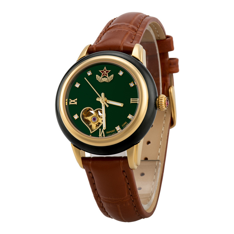 2020 New Arrival Rushed Hotan Jade Watches For Military Couple