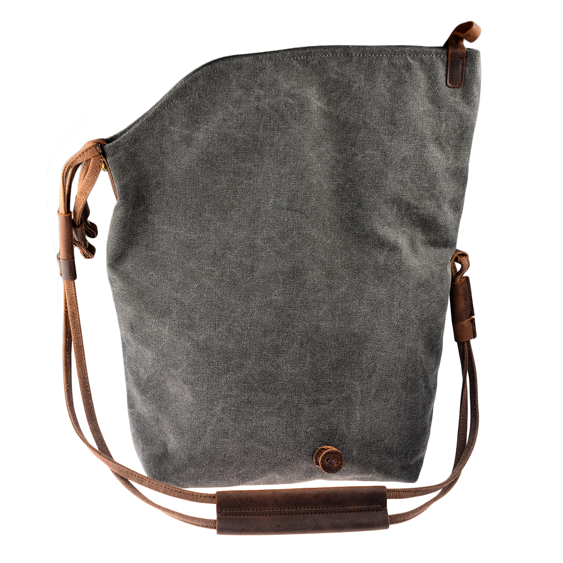 Women Bag Cross Body Vintage Casual Crazy Horse Leather Canvas Crossbody Bags Messenger Shouder Bag Ladies Bolsa Feminina Girls