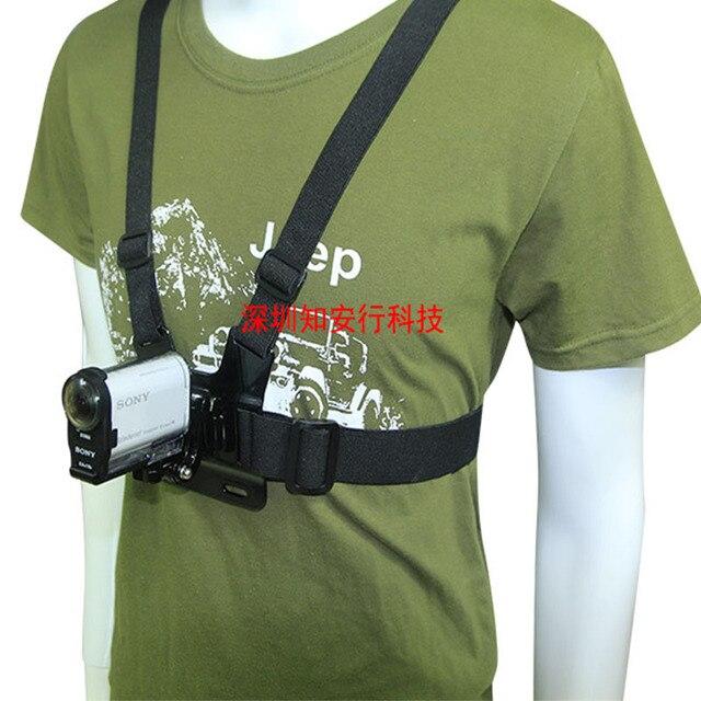 חזה רצועת הר החגורה עבור Sony AS15 AS20 AS30 AS50 AS100 AS200 AS300 רוזוולט X1000 X1000V X3000 X3000R AZ1 מיני POV פעולה מצלמה