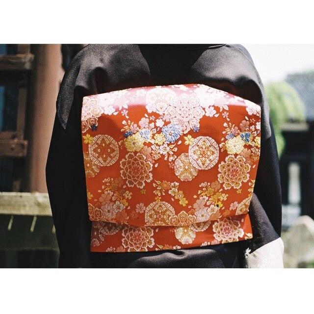 2019 oryginalny Kimono akcesoria japoński styl kwiatowy print pas biodrowy