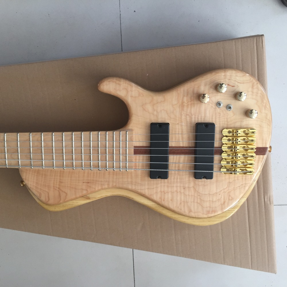 Fodera Bass For Sale : new arrival natural wood grain finish fodera electric bass guitars 6 string widened tailpiece ~ Vivirlamusica.com Haus und Dekorationen