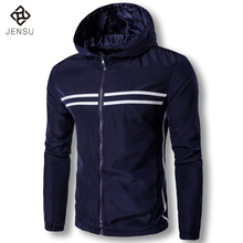 2017 Men Spring Hooded Jackets and Coats Jaqueta Masculina Tracksuits Men's Casual Fashion Slim Fit Windproof Jackets Tracksuits