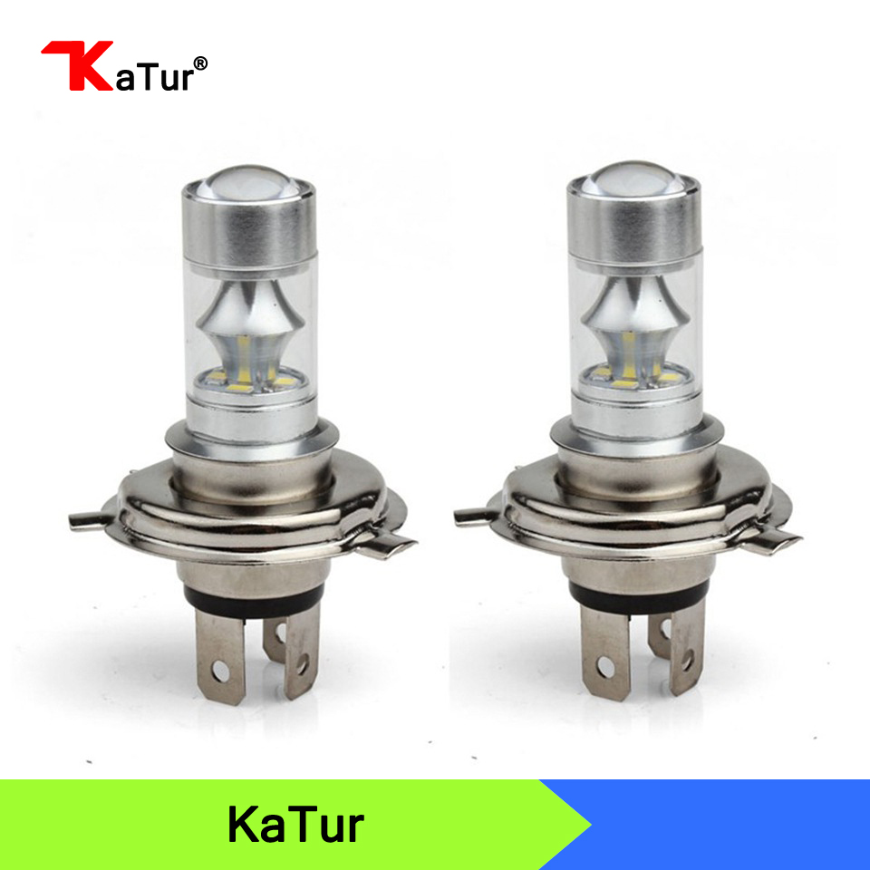 2pcs High Power 60W 12SMD H4 LED Bulbs Car LED H4 Fog Lights Bulbs DRL Daytime Running Lights Auto Fog Lamp 139