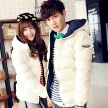 New Fashion Winter Clothes Loose Coat Korean Lovers Cotton-padded Clothes Men and Women Thickening Winter Warm Down Jacket