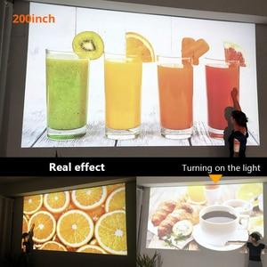 Image 5 - 70% OFF BYINTEK M7 LED  Full HD 1080P 3D 4K Home Theater Cinema Movie  Video Projector Projektor Beamer for Smartphone Tablet PC