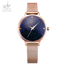 SHENGKE Fashion Elegant Quartz Women Watch Rose Gold Women Wrist Watch New Ladies Top Brand Luxury Relogio Feminino Reloj Mujer reloj mujer top brand contena watch women watches rose gold bracelet watch luxury rhinestone ladies watch saat relogio feminino