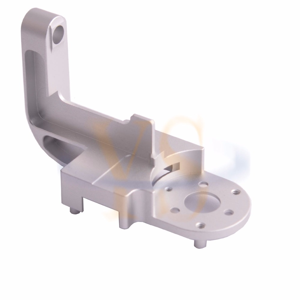 DJI Phantom 3 P3AP Gimbal Yaw Arm Replacement for Pro/Adv DIY kit HRC55 Aerometal CNC Mill Aluminum Parts