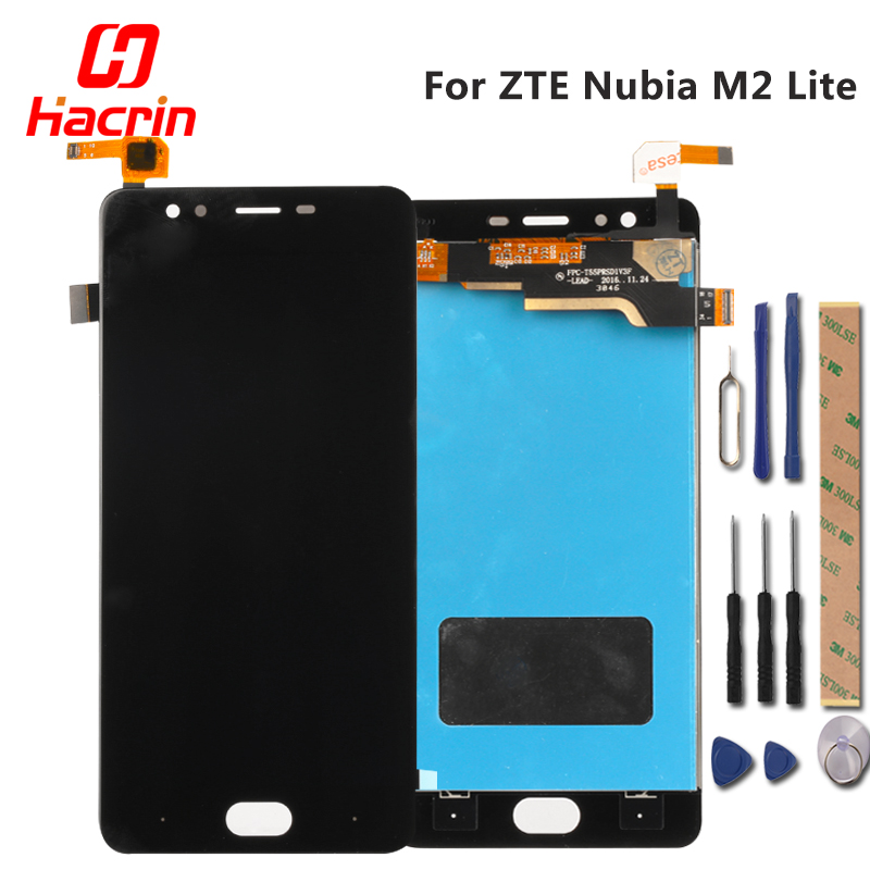 ZTE Nubia M2 Lite LCD Display Touch Screen New Test Good Glass Panle Digitizer Assembly Replacement