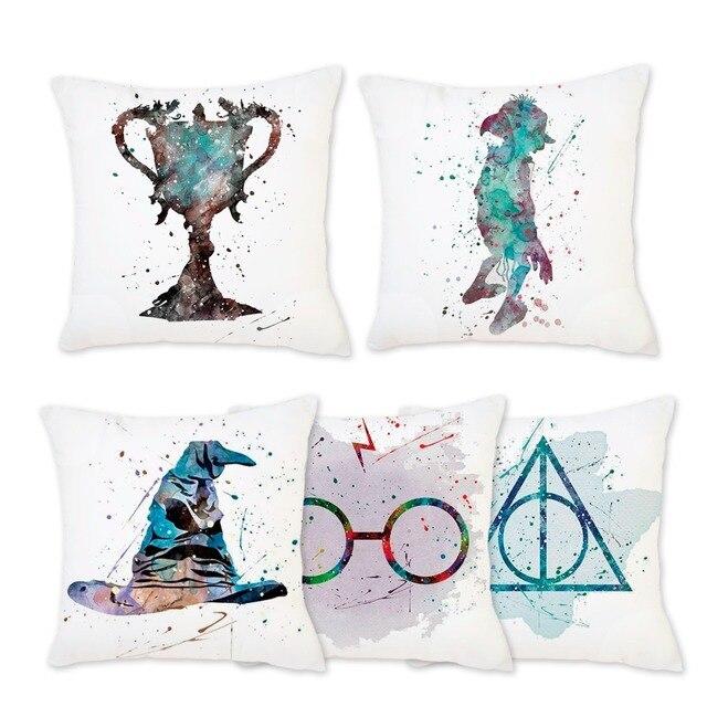 Frigg Morbido Harry Potter Coperture per Cuscini Biancheria Da Letto Decorativi
