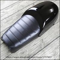 Vintage Motorcycle Retro Seat Vintage Hump Seat Cafe Racer Saddle Cushion With Rear Cover MASH125 MASH250