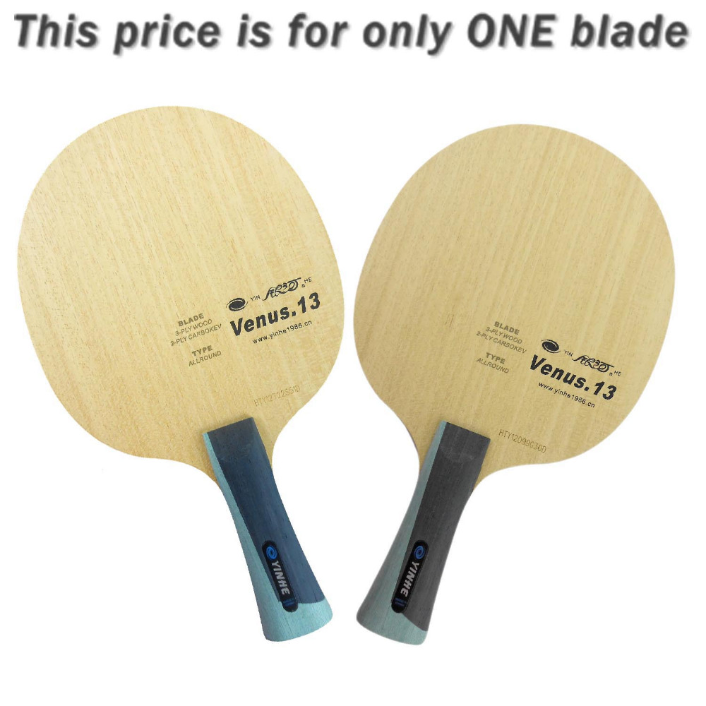 Galaxy Milky Way Yinhe V-13 Venus.13 3 Wood + 2 Carbokev Allround Table Tennis Blade for PingPong Racket