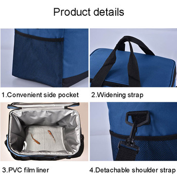 17l picnic box bags lunch cooler b