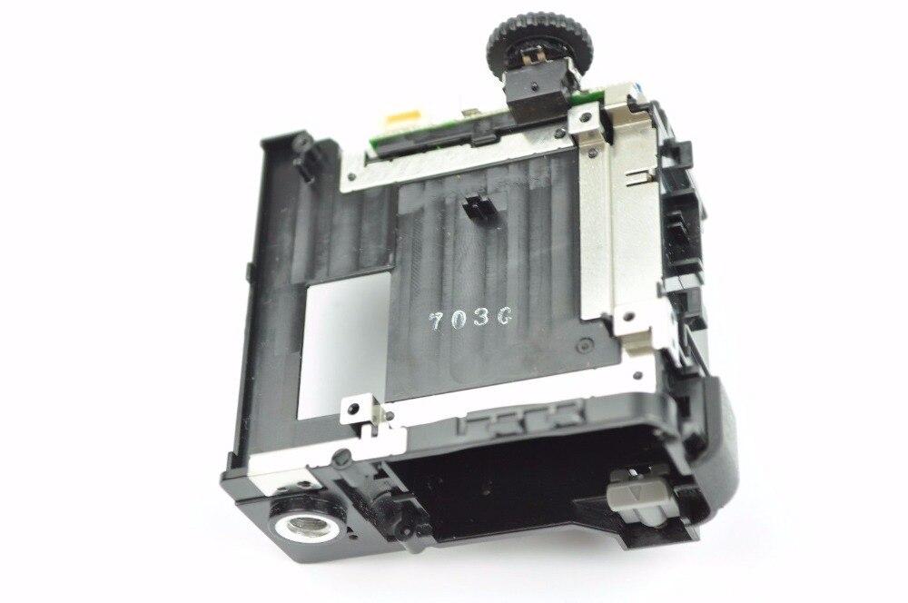 Livraison gratuite! 95% nouveau pour Panasonic Lumix DMC-FZ200 fz200 boîtier de batterie avec assemblage Flash + cadran