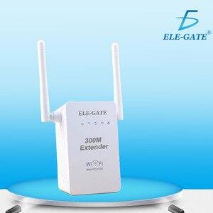 Image 5 - 300 mbps 무선 릴레이 새로운 듀얼 안테나 듀얼 네트워크 포트 무선 wifi 신호 증폭기 무선 ap