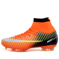 Multi Ground MG Soccer Shoes Fit For All Ground FG AG World Cup Football Boots 2018 Superfly VI CR7 Soccer Cleats Scarpe Calcio