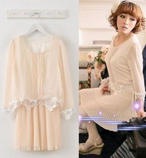 2012 japan hold new two pieces of lace dress GN20047