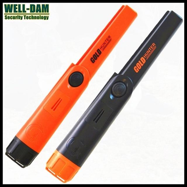 4PCS/LOT Gold Hunter TM pinpointer metal detector waterproof underground gold detector underwater metal detector with holster