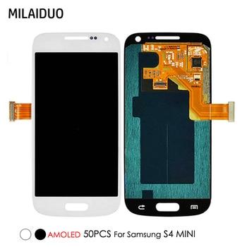 e17ed250010 50 piezas Super AMOLED para Samsung Galaxy S4 Mini I9190 I9192 I9195 pantalla  LCD de pantalla