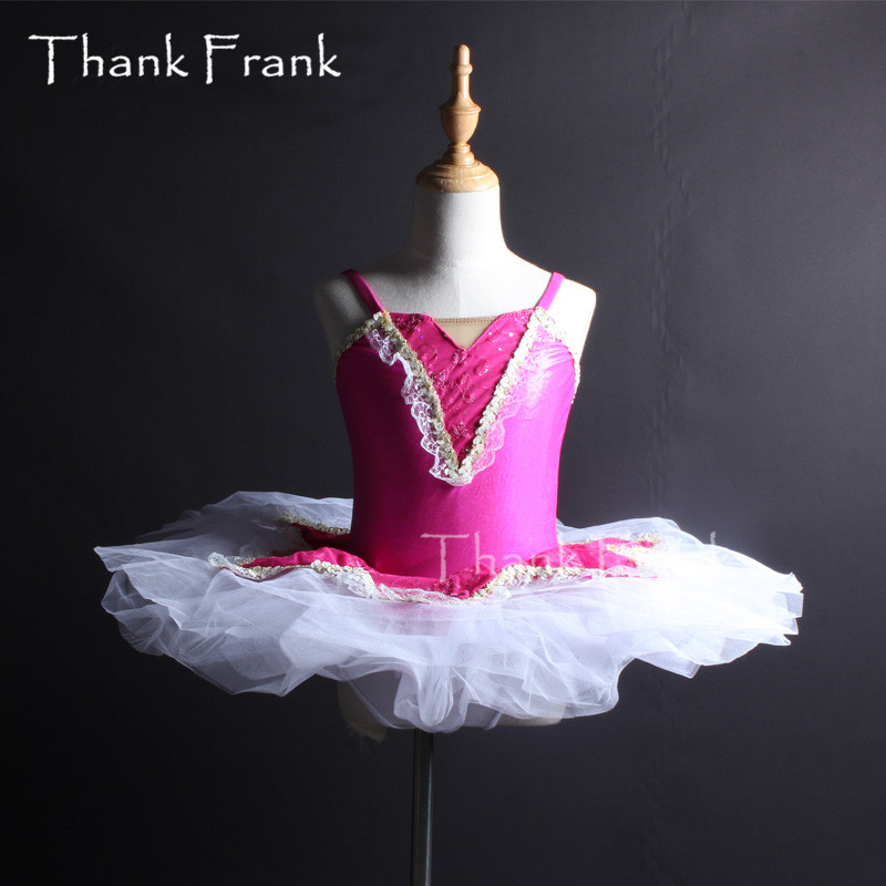 Camisole Tutu Ballet Dress For Girls Women Lace Professional Dance Costume C430