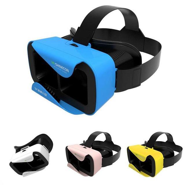 VR SHINECOM КОРОБКА 3.0 Виртуальной Реальности Очки Гарнитура 3D маски gafas VR Шлем для 4.7 до 6.0 Дюймов android ios Смартфон