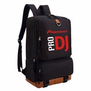Image 1 - Рюкзак WISHOT Pioneer DJ PRO, дорожная школьная сумка на плечо, сумка для книг для подростков, повседневные сумки для ноутбука