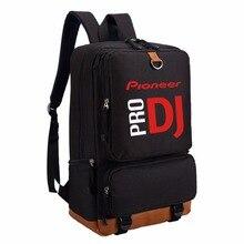 Wishot pioneer dj pro 배낭 숄더 여행 학교 가방 bookbag for teenagers 캐주얼 노트북 가방