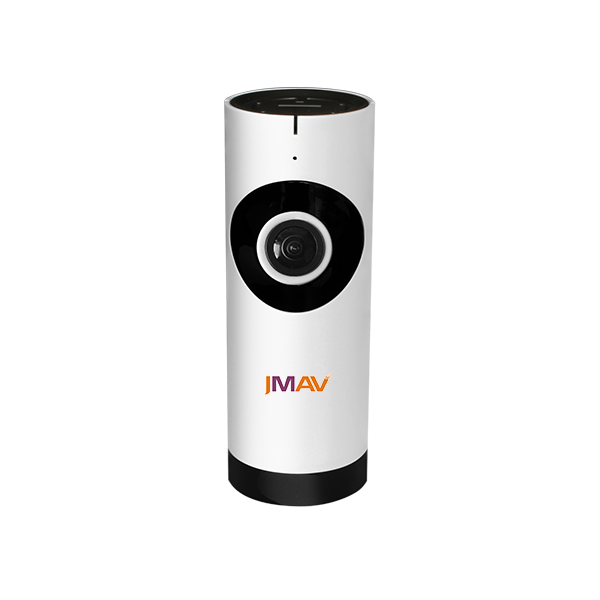 JMAV 720P Mini Wireless IP Camera,360 Degree Fisheye HD WiFi Camera for Home Security / Baby Monitoring / Plug & Play / Video Re 720p hd hi3518c ov9712 indoor mini security video ip camera with free cms software for home baby security