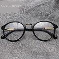2016 новый раунд TR90 оптические женщины старинные близорукость дизайн очки óculos де грау Feminino Gafas