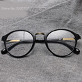 2016 nueva ronda marco De los vidrios TR90 mujeres ópticos miopía vendimia diseño ojo Gafas De Grau Gafas Feminino Gafas