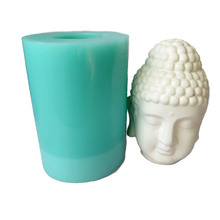 przy SN0047 Silicone Mold candle mold Buddha moulds big size Handmade DIY Craft resin clay Mould aroma stone
