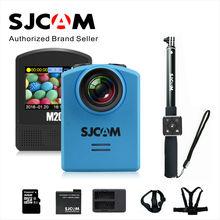 M20 SJCAM Wifi Гироскоп Спорт Действий Камеры HD 2160 P 16MP часы Bluetooth автоспуска рычаг дистанционного управления + 1 дополнительный аккумулятор + зарядное устройство