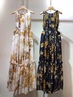 WRD06330BG Top Quality New Runway Fashion Women 2018 Summer Dress Luxury Brands European Designer Casual dress