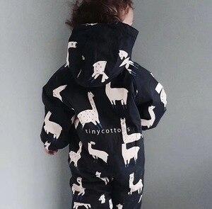 Image 5 - 2019 roupas da menina do bebê presentes de natal meninos roupas meninas tc roupas do bebê macacão casacos de inverno roupas lama