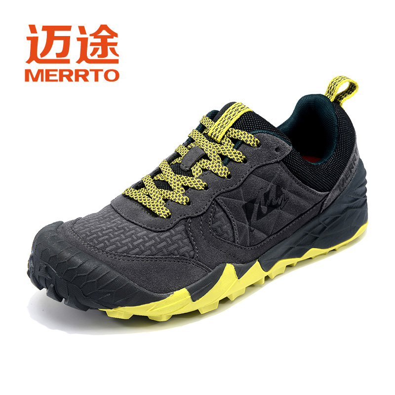 MERRTO Men's Outdoor Cowhide Hiking Shoe Multi Fundtion Waterproof anti-skid Walking Sneakers Wear Resistance Sport camping shoe merrto men s outdoor cowhide hiking shoe multi fundtion waterproof anti skid walking sneakers wear resistance sport camping shoe