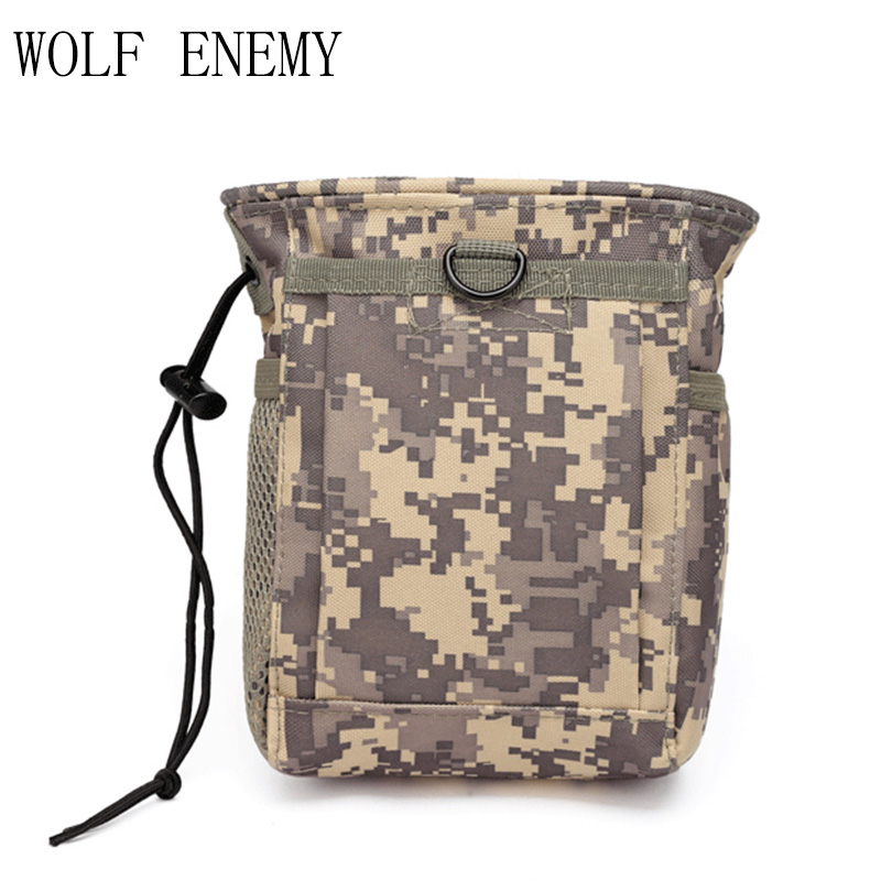 Temperate Portable Outdoor Sports Tactical Molle Army Camo Phone Pouch Bag Case 1000d Nylon High Quality Camouflage Accessories Package Security & Protection