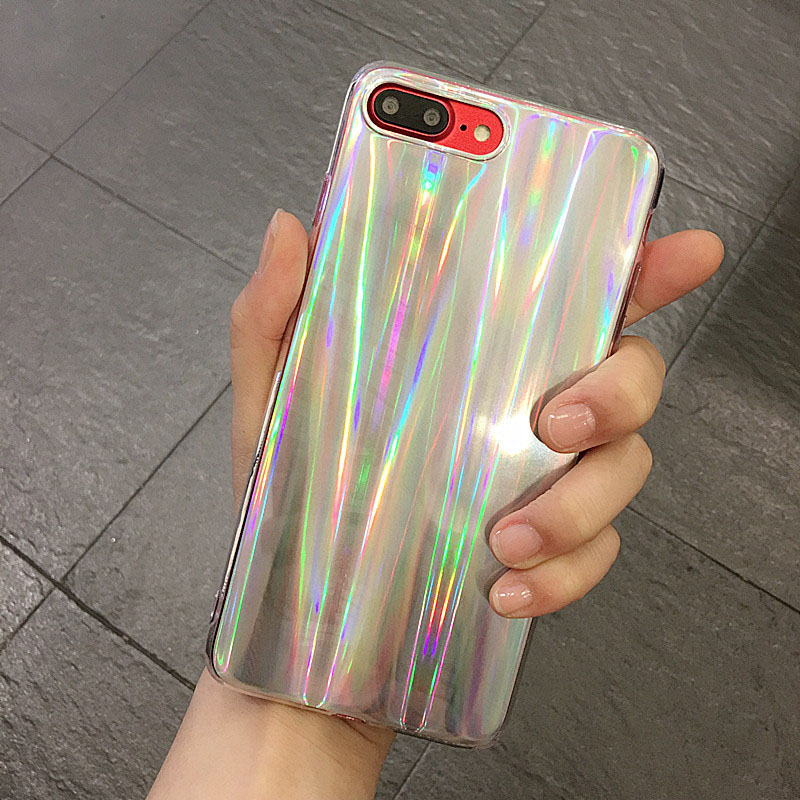 Hehan ins Web Red Laser Phantom For iphone7plus Mobile Shell For iphone6s Colorful Prote ...