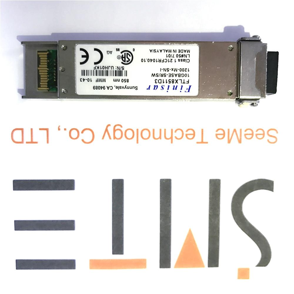 Orijinal Finisar FTLX8511D3 850 XFP 10G 300 M multimode 10GBASE-SR/SW MMF 12-Mx-SN-I LN #50 7/01 AJB0A15Orijinal Finisar FTLX8511D3 850 XFP 10G 300 M multimode 10GBASE-SR/SW MMF 12-Mx-SN-I LN #50 7/01 AJB0A15