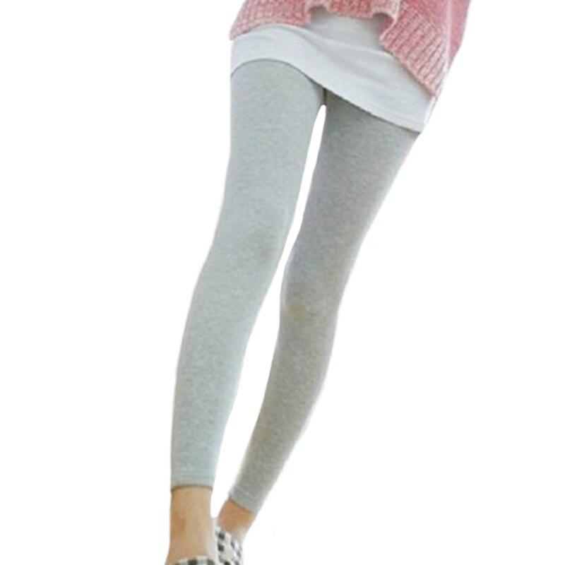 Women Leggings Stretch Modal Cotton Black High Waist Elastic Skinny Ladies Fashion Casual Pants Fitness Legging