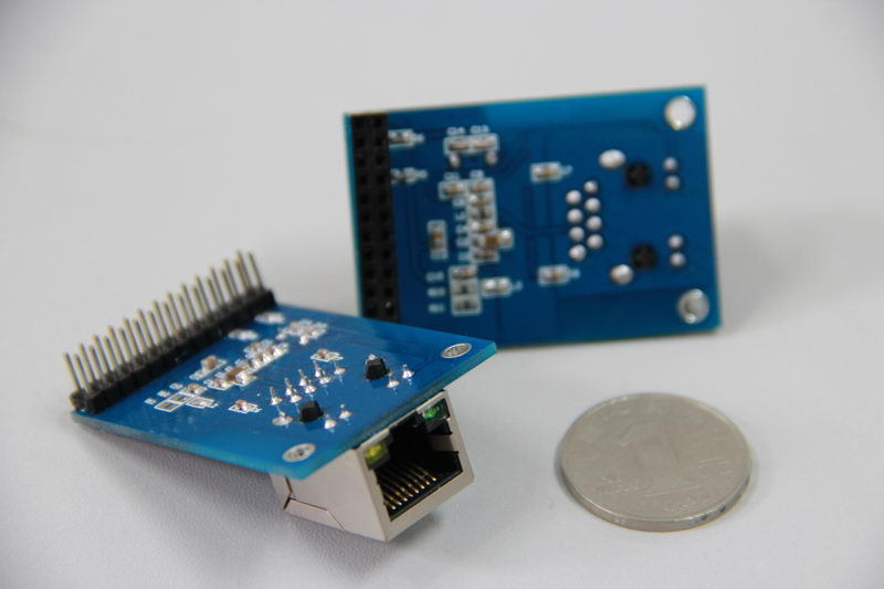Free Shipping! 1pcx DM9000 Mbps Ethernet module