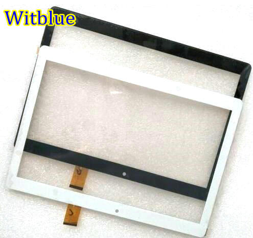 Witblue New Touch screen Digitizer For 10.1 inch FinePower A3 3G Tablet Touch panel Glass Sensor replacement Free Shipping witblue new touch screen for 10 1 ginzzu gt 1020 4g tablet touch panel digitizer sensor glass replacement free shipping