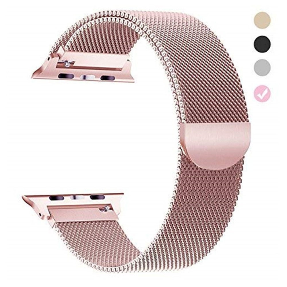 stainless steel milanese loop band for apple watch 4 44mm 40mm iwatch series 4  watchband bracelet wrist belt replacementstainless steel milanese loop band for apple watch 4 44mm 40mm iwatch series 4  watchband bracelet wrist belt replacement