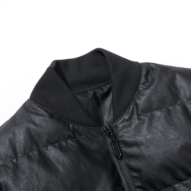 Marca Parka Grueso Negro Ropa Hombres Y Chaqueta Masculina Mens Casual Abrigos Invierno Outwear De 2017 dx018Zd