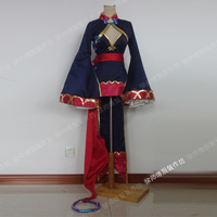 [Customized]Anime Fate Grand Order Shutendoji 4 Anniversary Zombie Outfit Cosplay Costume Any Size Women Halloween Free Shipping