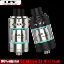 New Youde UD Athlon 22 Mini Sub Ohm Tank 2ml Top-filling Adjutable Top Airflow Electronic Cigarette Atomizer with MOCC Coil Head