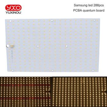 Samsung led 288 шт PCBA quantum board, QB288 V2 PCB с LM301B + 660nm/V1  LM561C S6 3000 K diy led растение растут свет