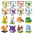 ZRT Mini pokemon go blocks ego star wars duplo lepin toys stickers playmobil castle starwars orbeez figure doll car brick